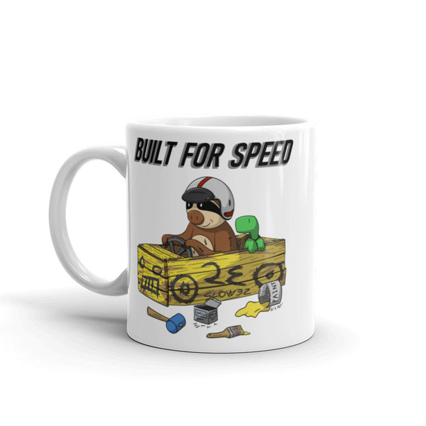 Built for Speed - Racing Sloth Coffee Cup - Sloth and Sloth [Product_type], Sloth and Sloth, Baby sloth, slothandsloth