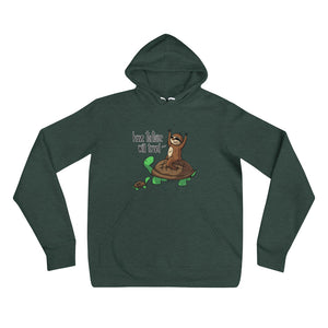 Have Tortoise Will Travel - Sloth and Turtle - Unisex hoodie - Sloth and Sloth [Product_type], Sloth and Sloth, Baby sloth, slothandsloth