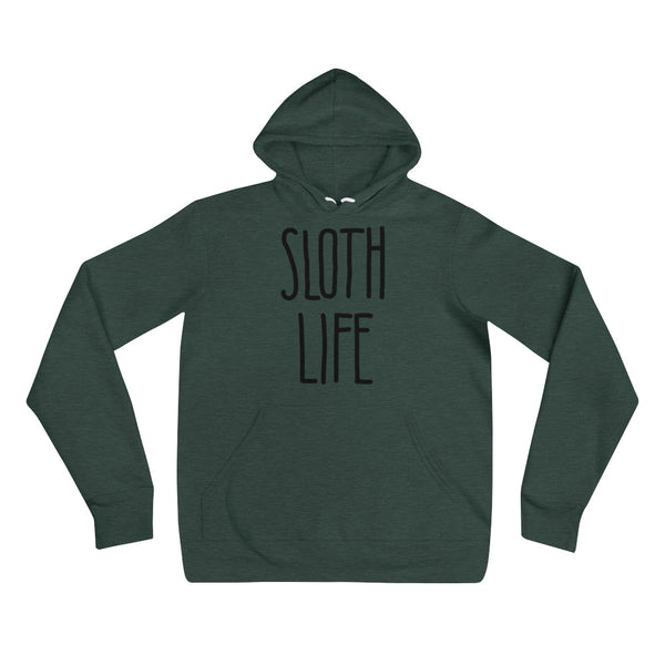 """Sloth Life"" - Unisex hoodie - Sloth and Sloth [Product_type], Sloth and Sloth, Baby sloth, slothandsloth"