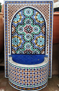 Moroccan Mosaic Fountain 18020