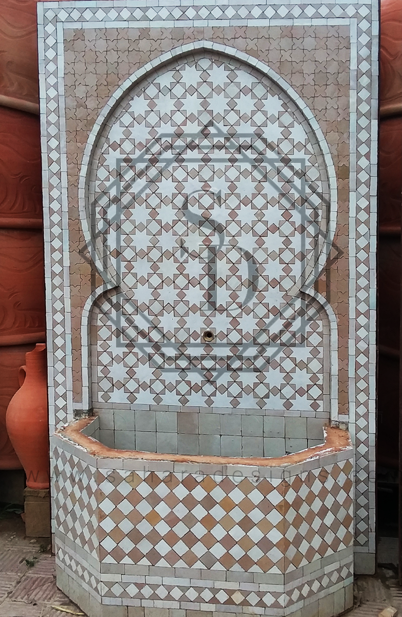 Moroccan Mosaic Fountain 18021