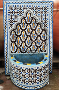 Moroccan Mosaic Fountain 18022