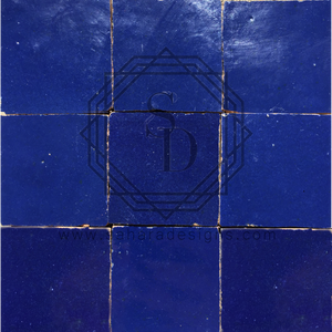 Dark Blue Zellij Ceramic Tile