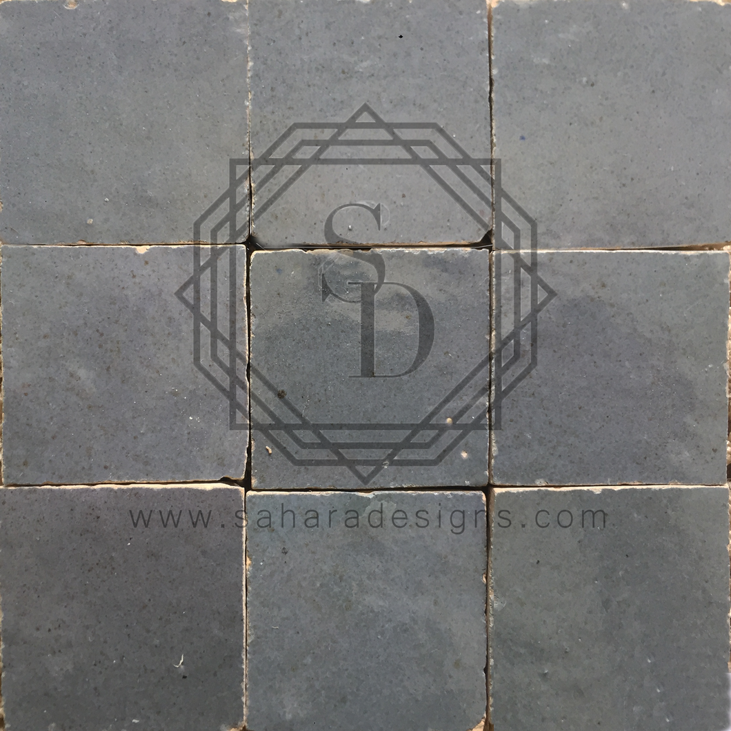 Grey Zellij Ceramic Tile
