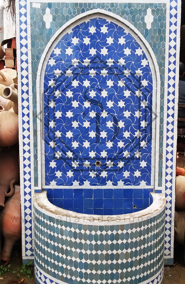Moroccan Mosaic Fountain 18016