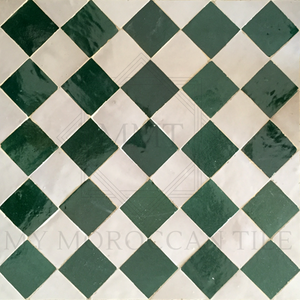 Checker Mosaic Tile
