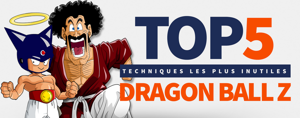 TOP 5 des Techniques Dragon Ball Z les Plus Inutiles