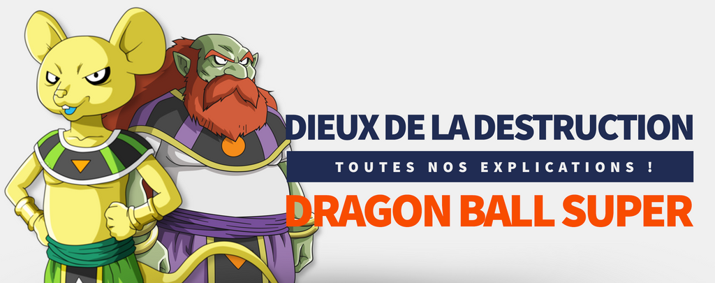 Les Dieux de la Destruction dans Dragon Ball Super