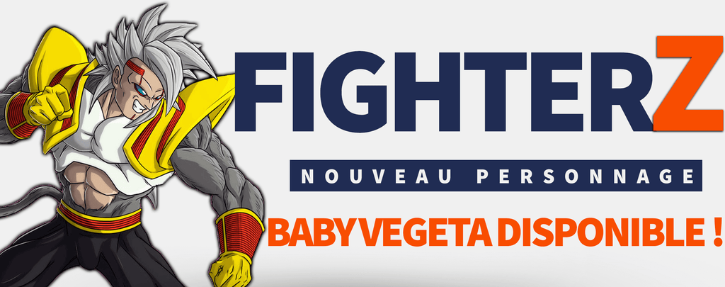 Fighterz : Super Baby Vegeta 2 disponible !