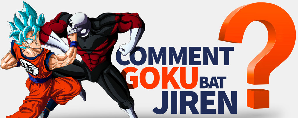 Comment Goku bat Jiren ?