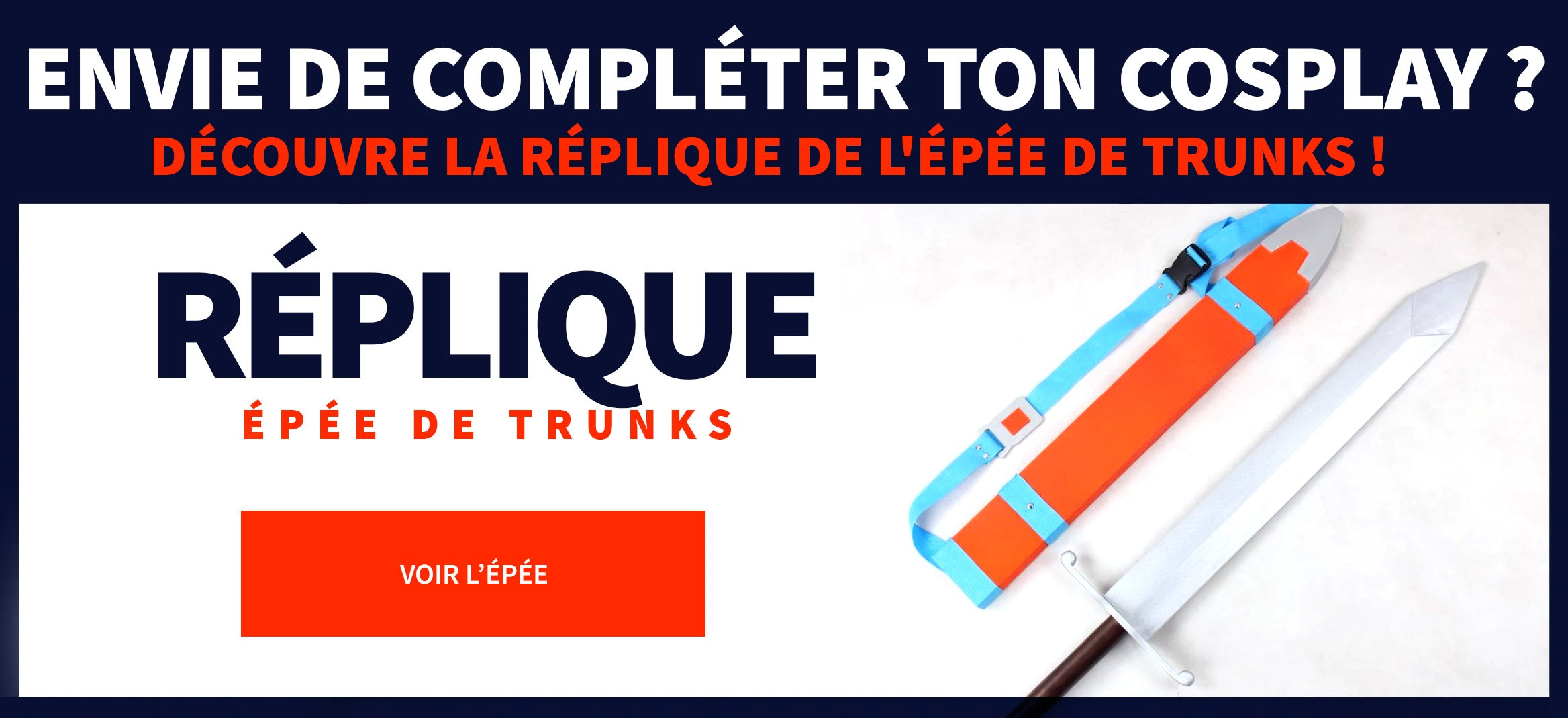Réplique épée de Trunks
