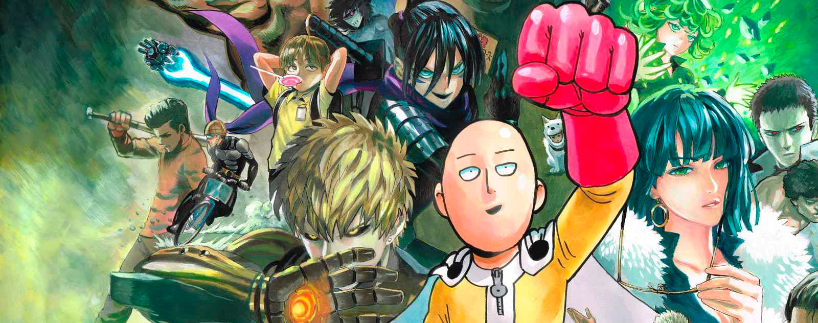 Héros One Punch Man