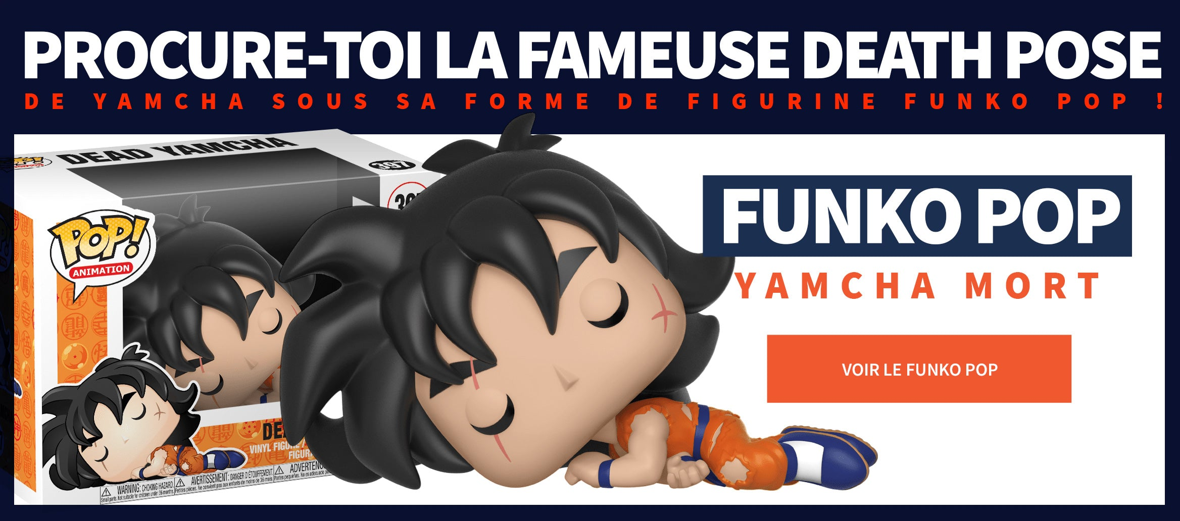 Figurine Pop Yamcha