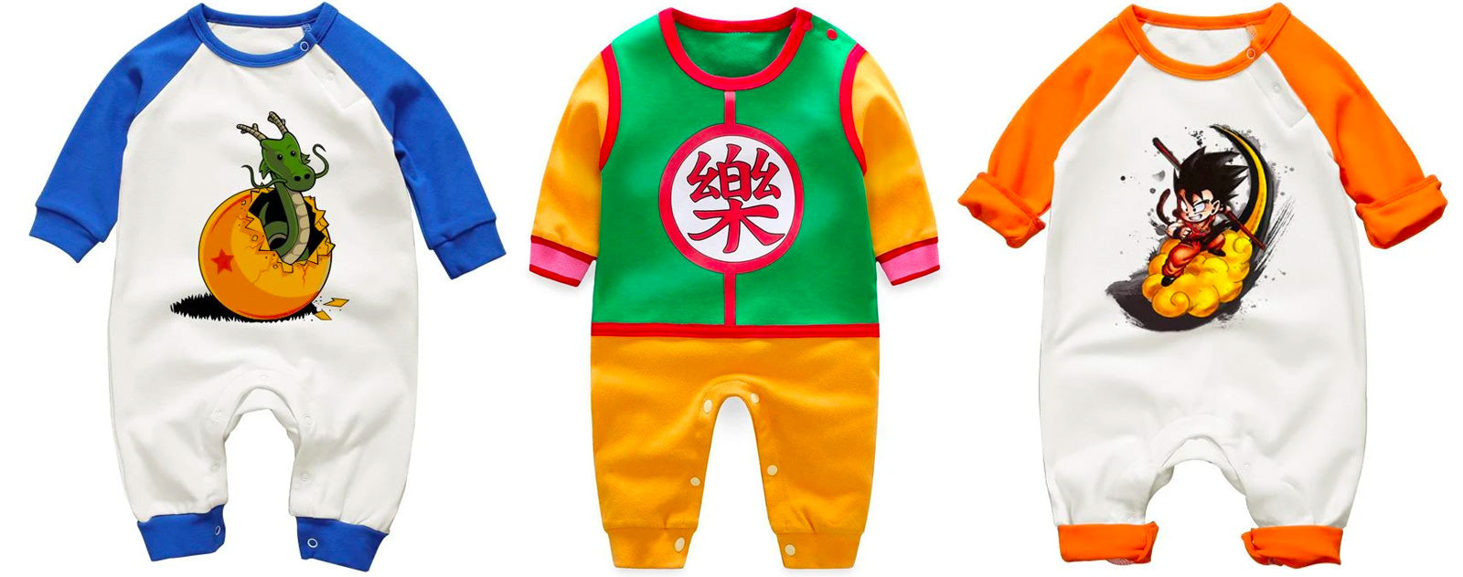 Vêtements Bébé Dragon Ball Z