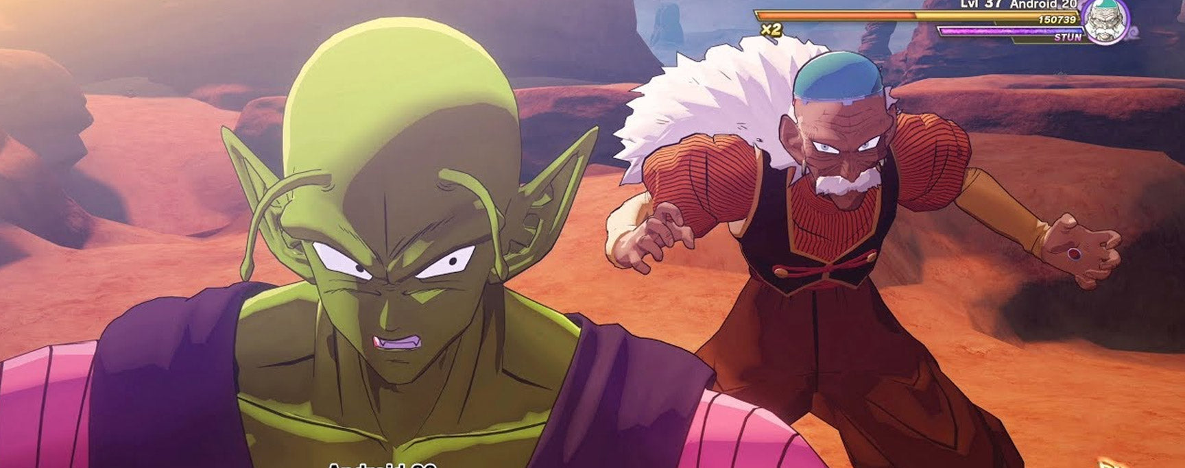 Piccolo vs C-20 Kakarot