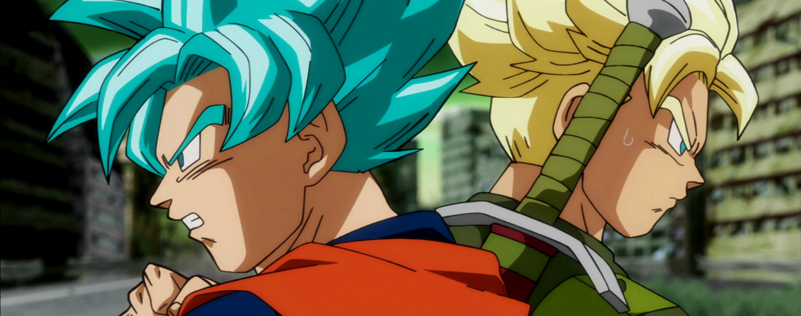 Goku vs Trunks Futur