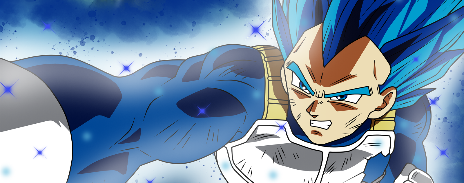 Vegeta Super Saiyan Blue Evolue
