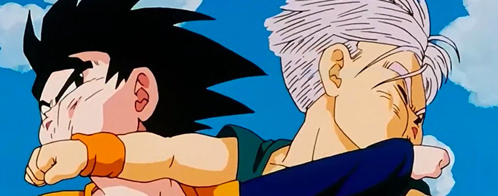 Trunks vs Goten