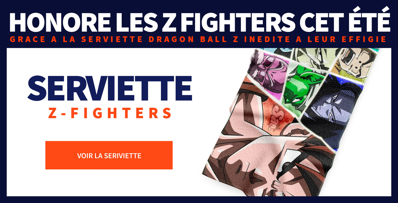Serviette DBZ Z Warriors