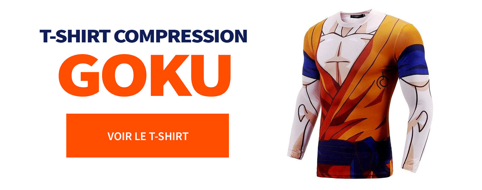 T-Shirt Compression Goku