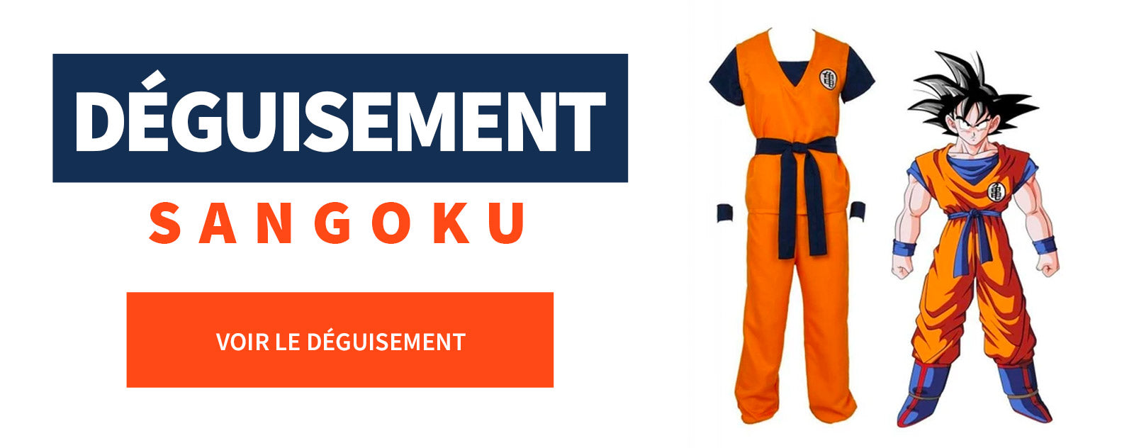 Déguisement Dragon Ball Z Sangoku