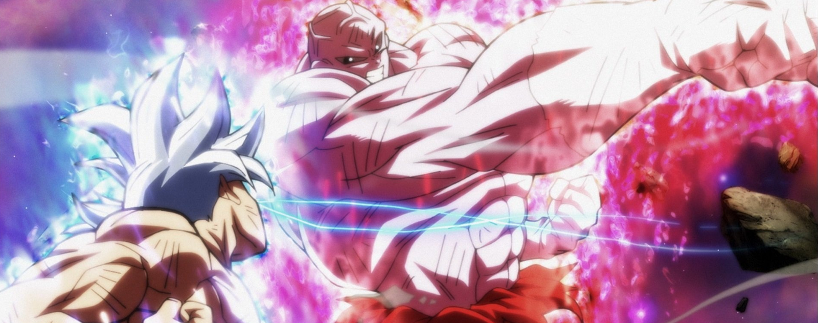 Ultra Instinct Jiren vs Goku