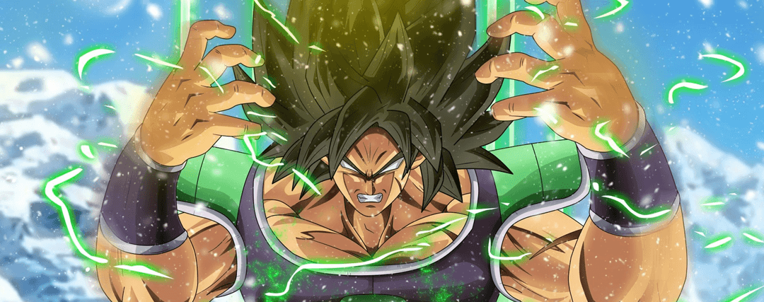 Broly Ultimate Soldier DBS