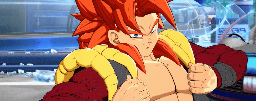 FighterZ Gogeta Super Saiyan 4