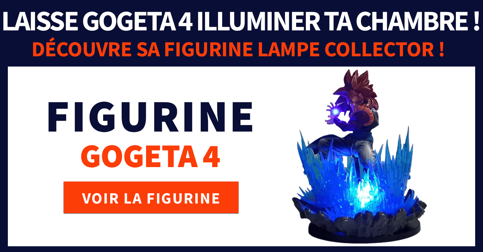 Gogeta 4 figurine collector