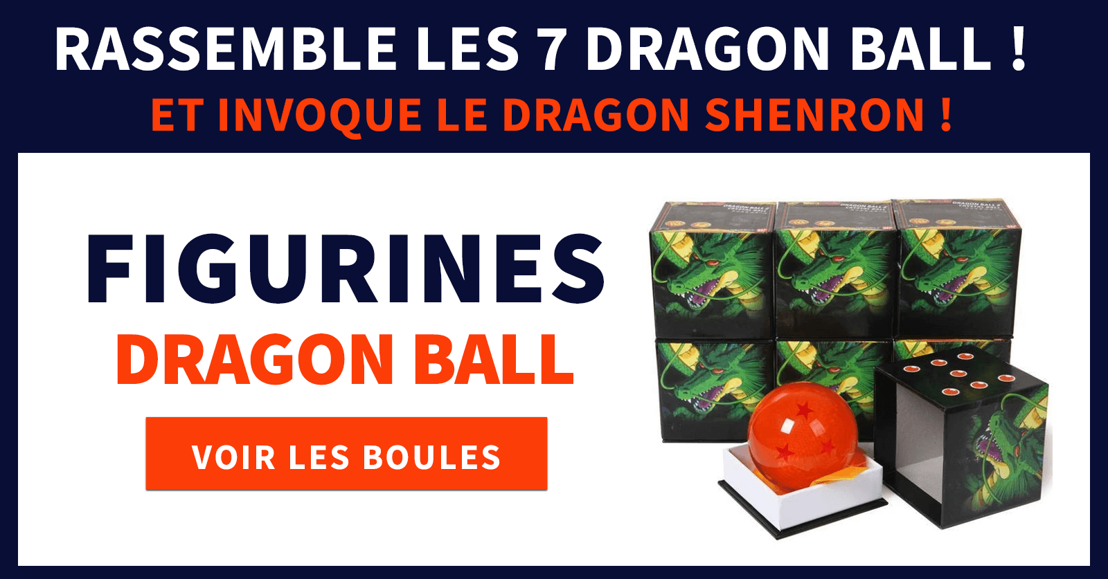 Figurines boules dragon ball
