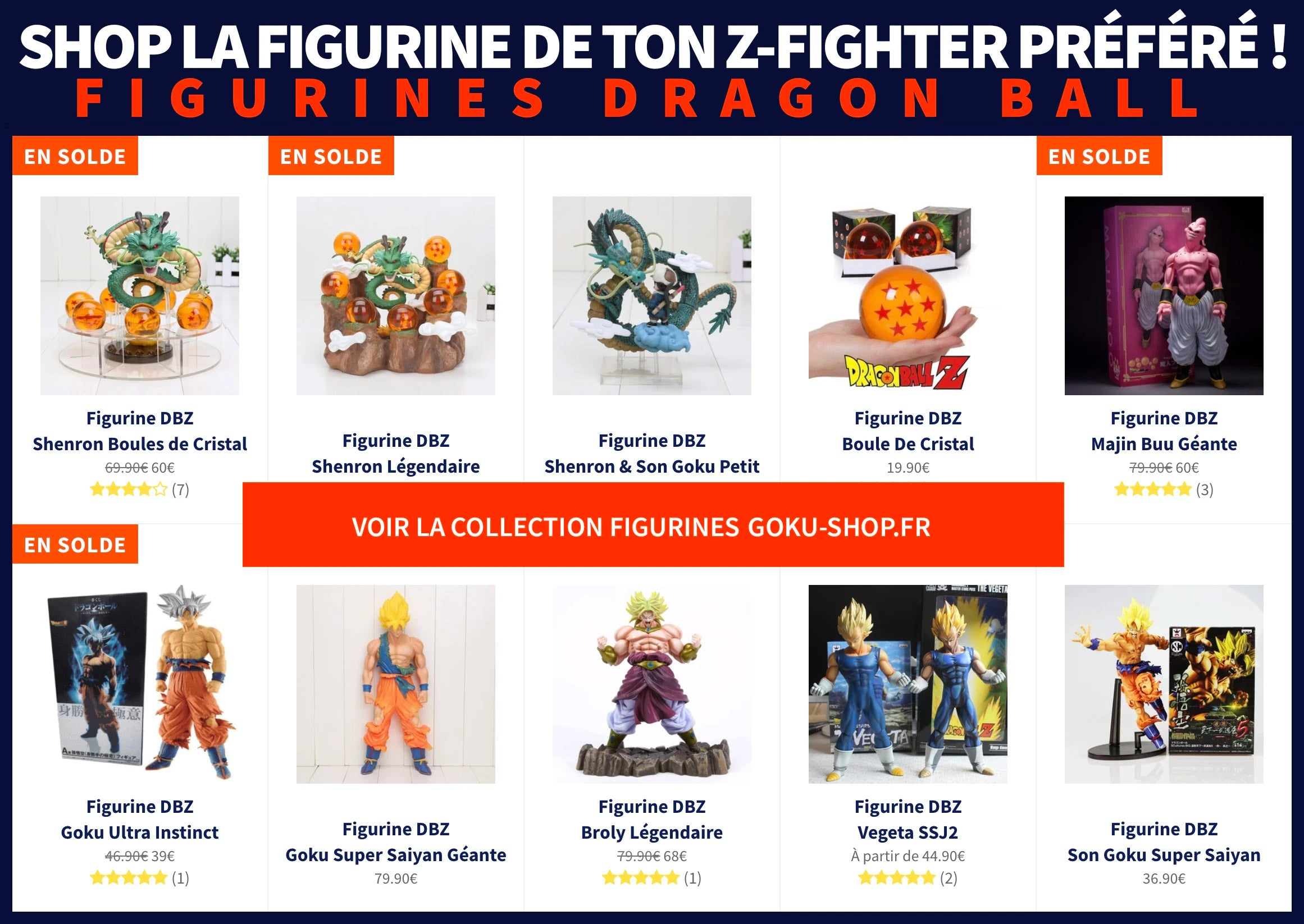 Collection Figurines DBZ Exclusives