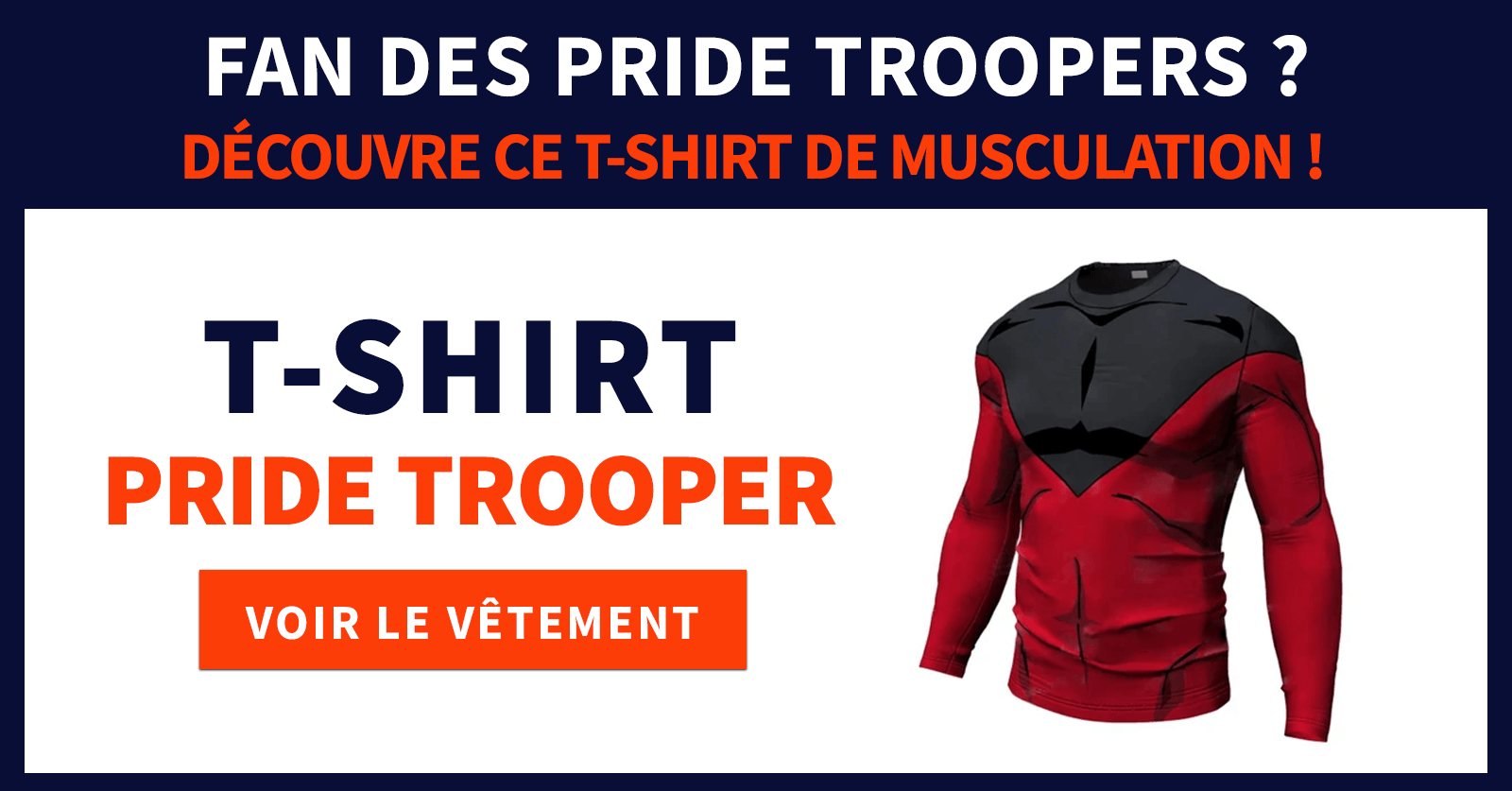 t shirt pride trooper
