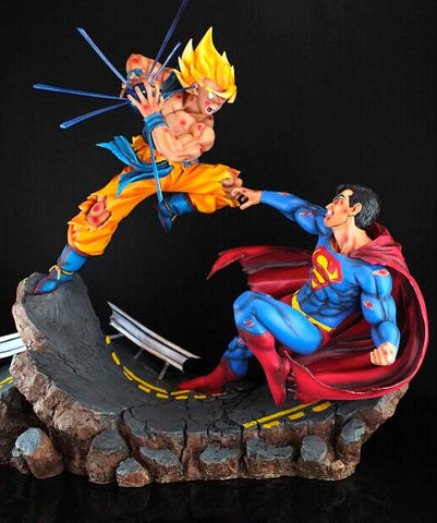 Figurine Collector Goku vs Superman