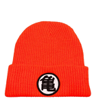 "Bonnet Dragon Ball Z Kanji ""Go"" et ""Kame"""