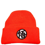 "Bonnet Dragon Ball Z <br/> Kanji ""Go"" et ""Kame"""
