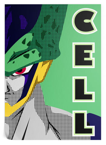 Poster Dragon Ball Z - Cell