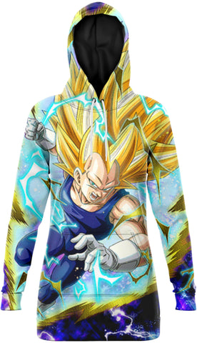 Robe Sweat DBZ - Vegeta Super Saiyan