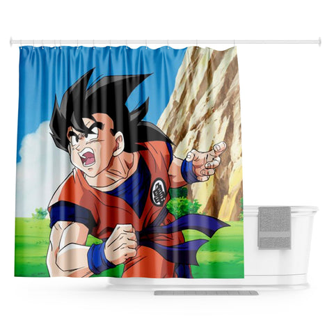 Rideau de Douche Dragon Ball - Goku