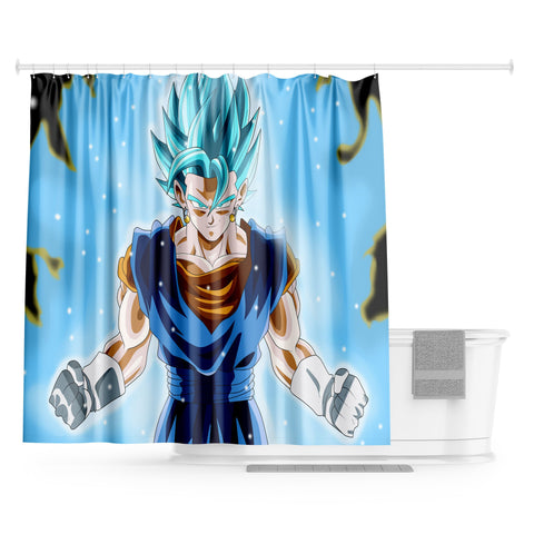 Rideau de Douche Dragon Ball - Vegeto Blue