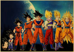 poster xxl dragon ball z