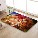 Tapis Dragon Ball Goku Super Saiyan God