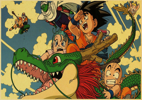 Poster mural dragon ball z