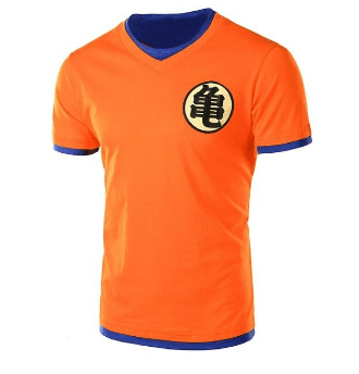 T-Shirt Dragon Ball Z <br> Orange Goku