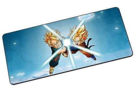 Tapis De Souris DBZ Goku et Trunks (GRAND)
