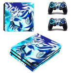 Stickers PS4 Dragon Ball Z Son Goku Kamehameha