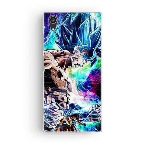 Coque Sony Blue Goku