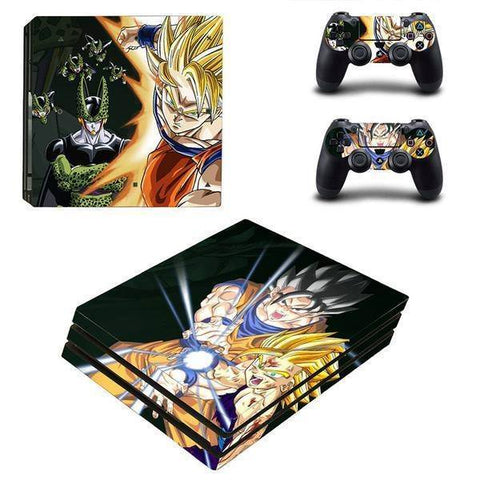 Stickers Playstation 4 Dragon Ball Z Kamehameha Final