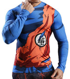 T-Shirt Compression Long Goku