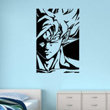 Sticker Mural Dragon Ball</br> Puissance Saiyan