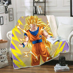 Plaid Dragon Ball Z</br> Goku Super Saiyan 3